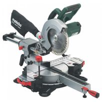 Metabo - Scie radiale a coupe d'onglets Kgs216M 216 mm 1500 W