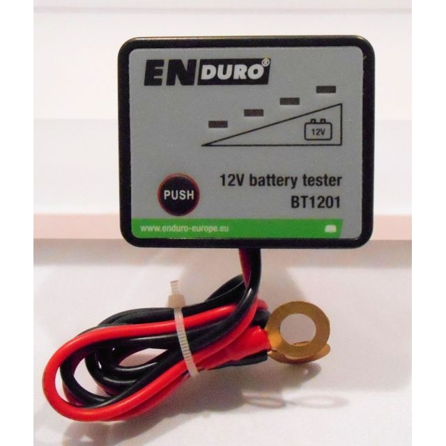 enduro testeur indicateur de charge pour batterie 12v. Black Bedroom Furniture Sets. Home Design Ideas