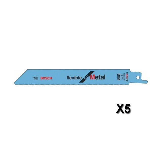 Bosch S 922 EF BIM Flexible for Metal 5 lames 2608656015
