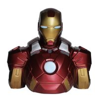 Semic Distribution - Marvel - bust bank / tirelire iron man 22cm smc - Busmng046