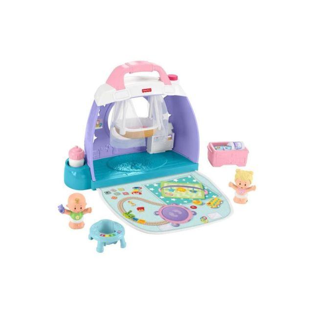Fisher Price Fisher-price Little People Babies La Chambre - Gkp70 - Figurine pour bébé - de 18 mois a 5 ans