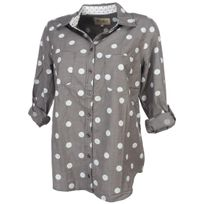 Desires - Chemise manches longues Idalou grey ml shirt l Gris 29587