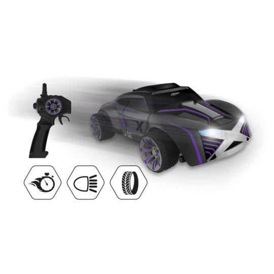 SILVERLIT Nova - Voiture radiocommandée - TE161 Nova, une voiture ultra-nerveuse aux performances impressionnantes.Active le boost pour rouler jusqu'à 30 km/h !