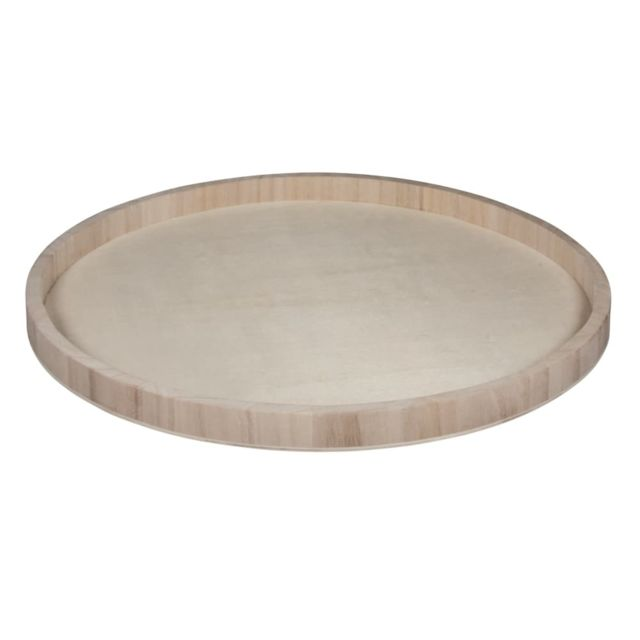rayher plateau en bois rond 40 cm pas cher achat vente objets d corer rueducommerce. Black Bedroom Furniture Sets. Home Design Ideas