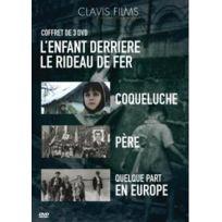 Clavis Films - L'enfant derrière le Rideau de Fer - Coffret 3 films : Coqueluche + Père + Quelque part en Europe