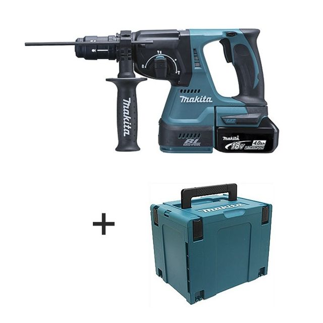 makita perforateur burineur sds plus 18v li ion lxt 4ah. Black Bedroom Furniture Sets. Home Design Ideas