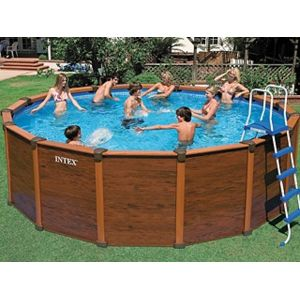 Intex pool zen spa kit piscine hors sol acier sequoia for Piscine hors sol sequoia spirit intex
