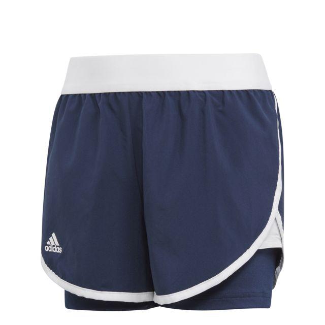a97d5efb5c0915 Adidas - Short fille Club - pas cher Achat / Vente Short de tennis ...