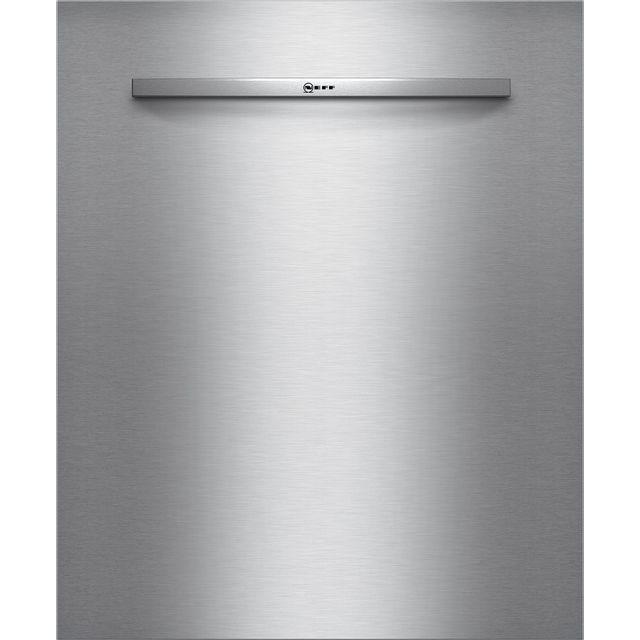 neff - porte inox pour lave-vaisselle 60cm tout intégrable - z7863x3