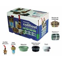 Afriso Eurojauge - Kit Colifioul avec filtre F/F - pour cuve acier
