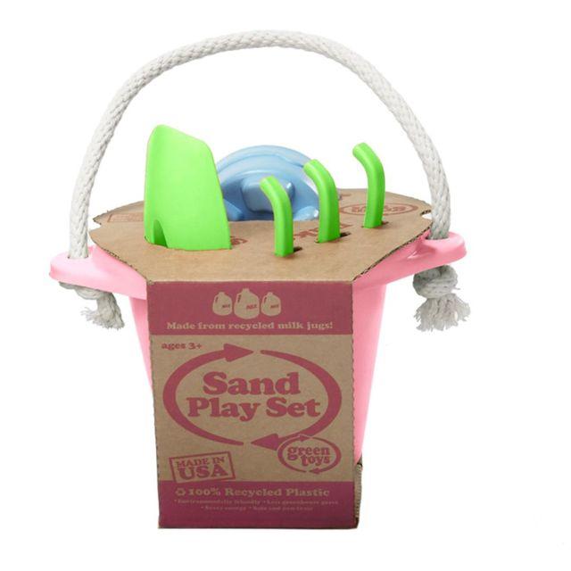 Green Toys Jeu de plage rose