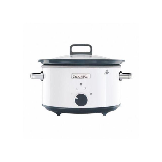 Crock-pot Csc030X-DIM Mijoteur électrique - Blanc