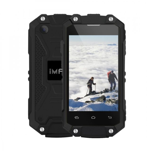 Auto-hightech Téléphone Smartphone Android Ip65 étanche à l'eau et poussière antichoc, 2,45 pouces:3G, double carte Sim, Otg