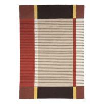 Mon Beau Tapis - Tapis Tibet Kilim 120x180cm, Gris