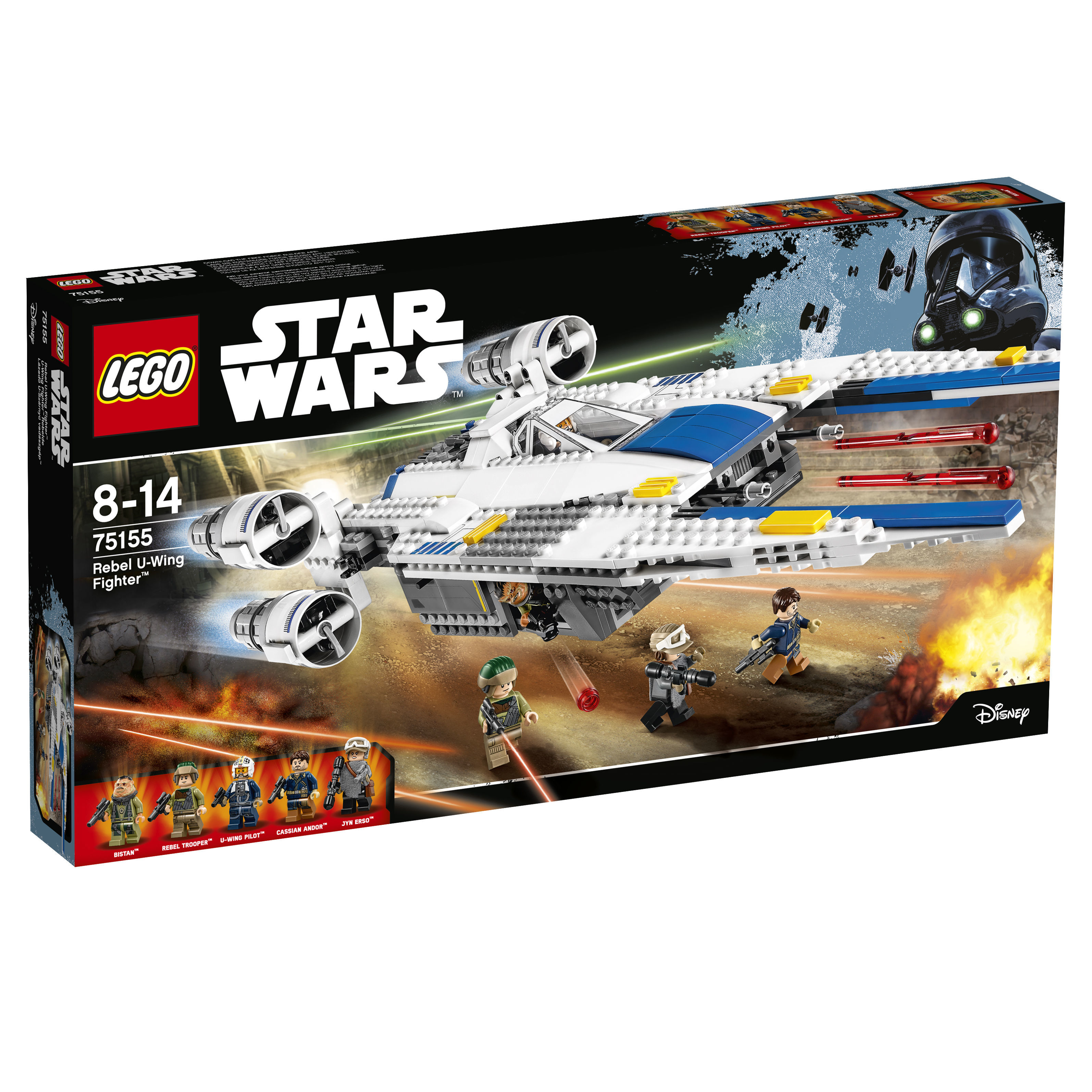 Rebel U-Wing Fighter™ - 75155