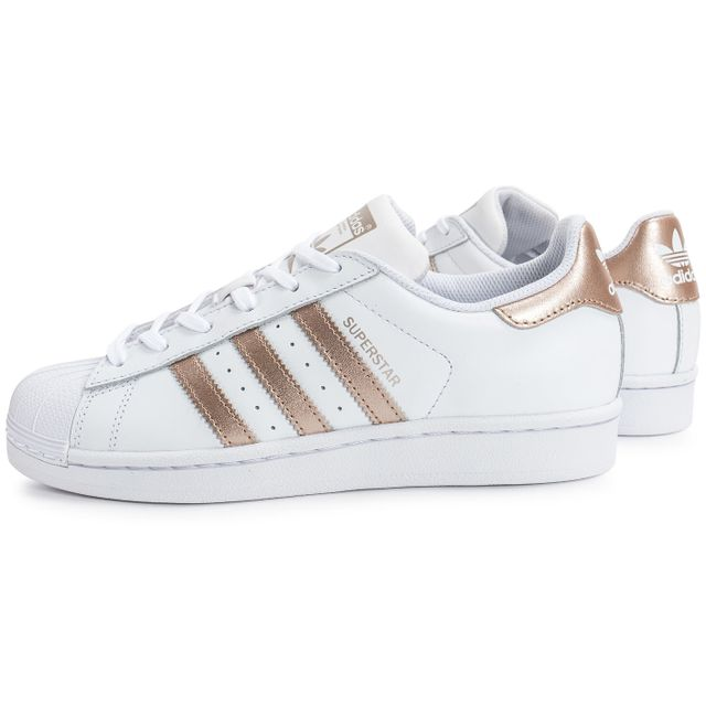 4b8a7d66349d Adidas - Superstar W Rose Gold - pas cher Achat   Vente Baskets ...