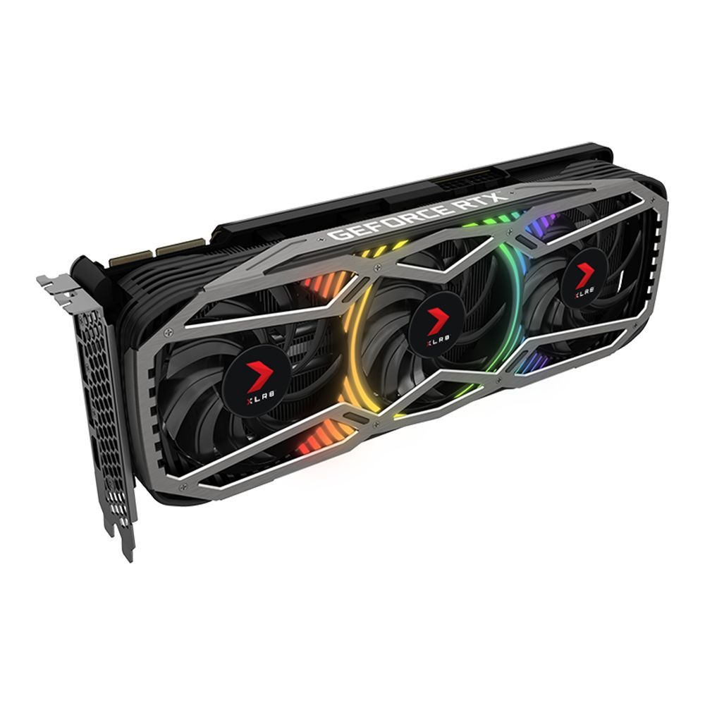 Carte graphique GeForce RTX 3090 XLR8 Gaming EPIC-X RGB 24 GB Slot 2.7 PNY
