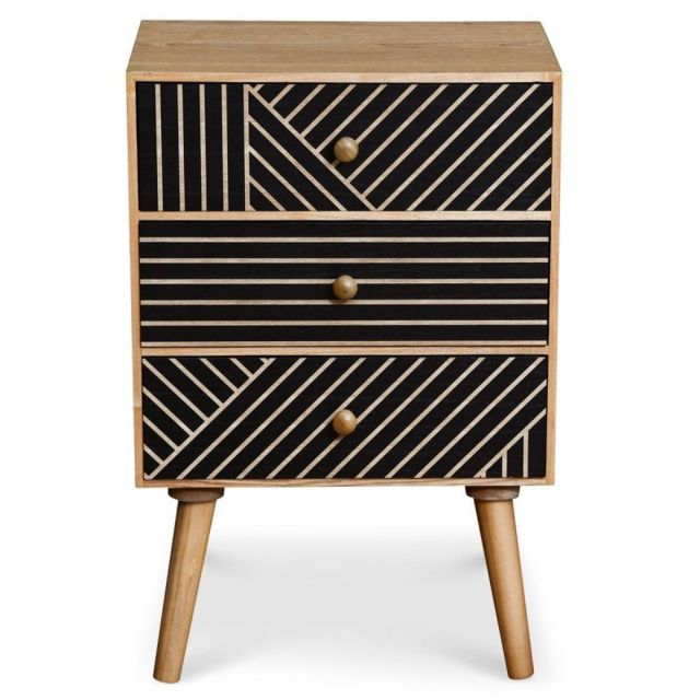 Paris Prix Commode Design 3 Tiroirs