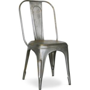 privatefloor - chaise tolix vintage xavier pauchard style - métal ... - Chaise Tolix Pas Cher
