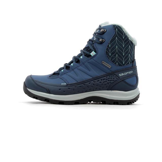 Kaïna Gore Chaussures Mid Bleu cher 40 d'hiver pas Salomon Tex trChdsQ