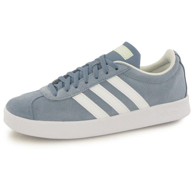 Adidas Neo Vl Court 2.0 bleu, baskets mode homme pas