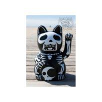 Universel - Statue chat chinois style muerte porte bonheur rock roll