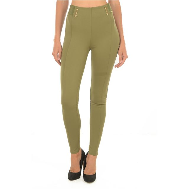 Guess Pantalon Fuseau Taille Haute W72b50 Jeans Pas Cher Achat