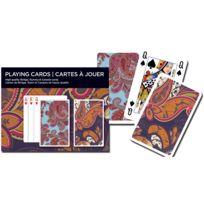 Gibson - Jeux de cartes : Paisley 2 x 55 cartes