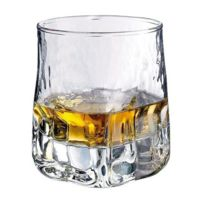 Durobor - Gobelet forme basse - verre à whisky 33cl - Lot de 6 - Quartz