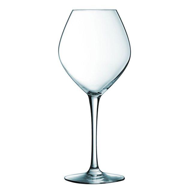 Cristal D'ARQUES Lot de 6 verres à pied 35 cl Wine Emotion