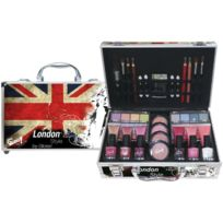 a1bd612156d4e5 Gloss - Coffret cadeau coffret maquillage mallette de maquillage London -  65pcs
