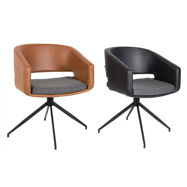 chaise de bureau style industriel stunning awesome fauteuil bureau industriel fauteuil bureau. Black Bedroom Furniture Sets. Home Design Ideas