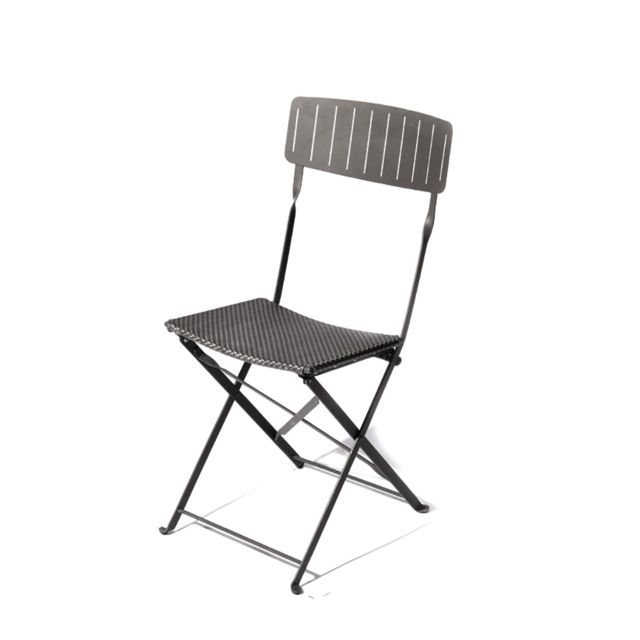 Chaise pliante DENVER anthracite