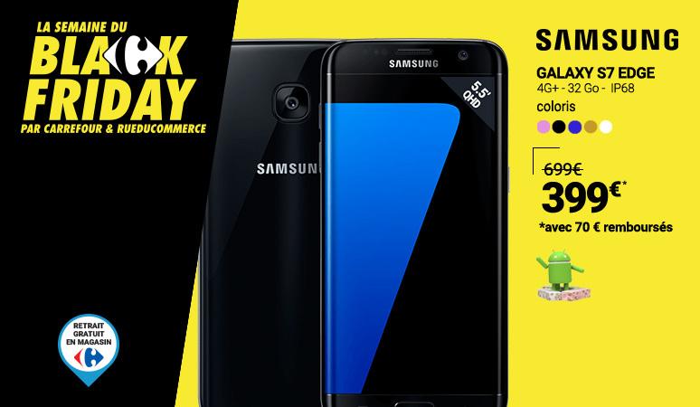 BLACK FRIDAY - Samsung S7 Edge