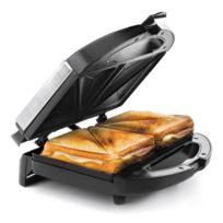 Lacor - Appareil à croque-monsieur - grill pour sandwich triangulaires - Croque-monsieur