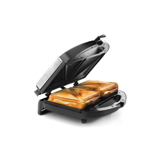 Lacor Appareil à croque-monsieur - grill pour sandwich triangulaires - Croque-monsieur