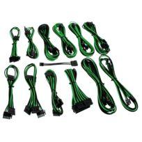 CABLEMOD - Kit de câbles gainés B-Series Dark Power Pro – NOIR / VERT