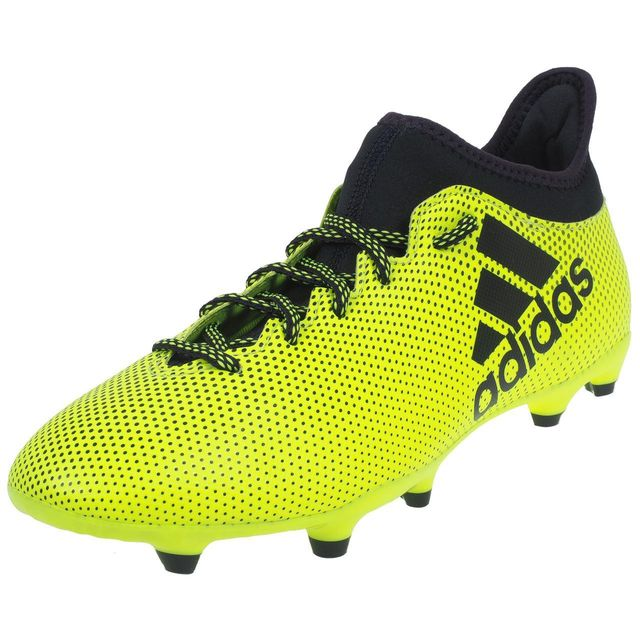 Adidas - Chaussures football lamelles X 17.3 fg Jaune 74908 40 2/3 - pas cher Achat / Vente Chaussures foot - RueDuCommerce