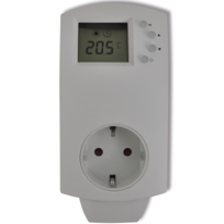 Rocambolesk - Superbe Prise Thermostat numérique électrique pour chauffage Neuf