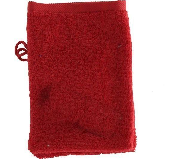 TEX HOME Lot de 2 gants de toilette BATH en coton