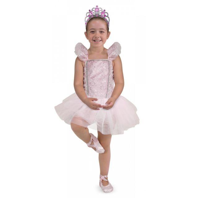 Melissa And Doug Déguisement De Princesse Ballerine - Enfant 3/5 ans 94 à 108 cm
