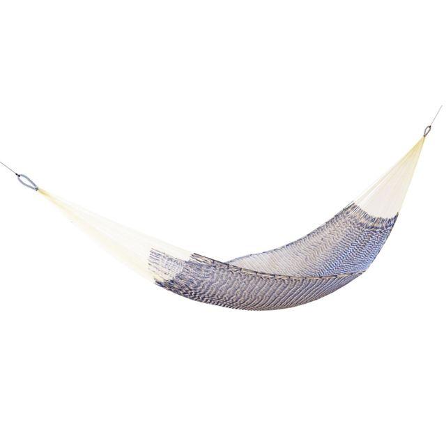 Ok Design Hamac Ama - bleu-blanc