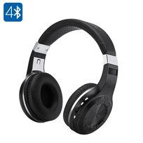 Shopinnov - Casque stereo Bluetooth 4.1 Bluedio H+ Radio Fm A2DP Avrcp Hsp Hfp