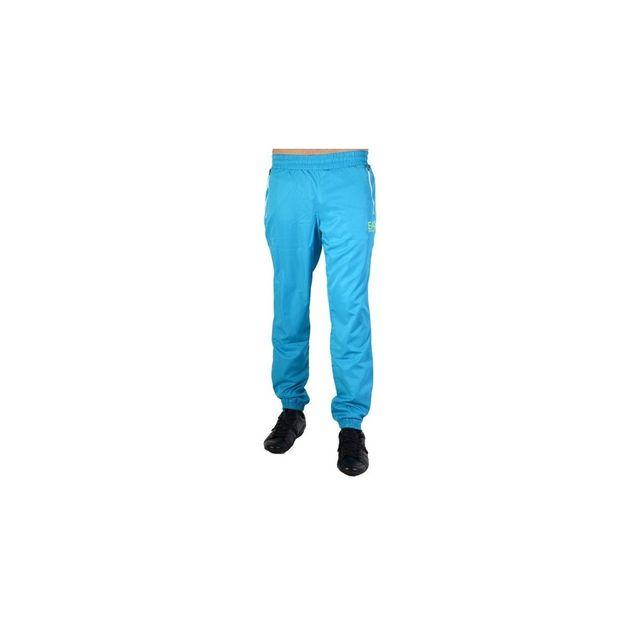 Armani Ea7 - Pantalon de survêtement Ea7 Emporio Armani Turquoise Bleu -  pas cher Achat   Vente Survêtement homme - RueDuCommerce 5fbf8d5ab940