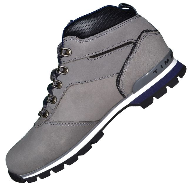 Timberland - Boots - Chaussures Montantes - Homme Splitrock 2 Hiker Cuir - Gris