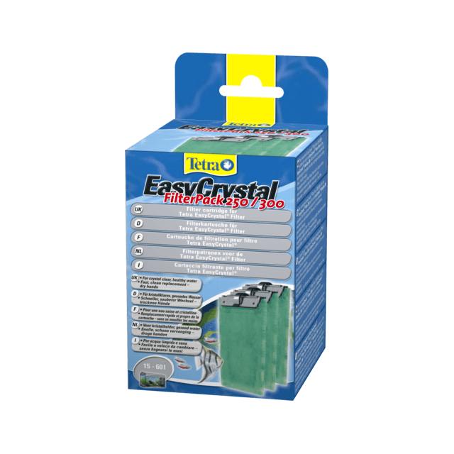 Tetra Cartouche pour filtre EasyCrystal Pack A250/300 pour aquarium Contenance 30 litres
