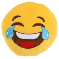 Sans Marque - Peluche Coussin moelleux Emojiv Pleure de rire