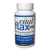 Vivre Mieux - Complément Alimentaire - Vital flax 2000 / 60 capsules