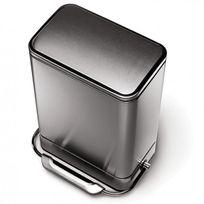Simplehuman - poubelle à pédale barre d'acier 38l inox - cw2000