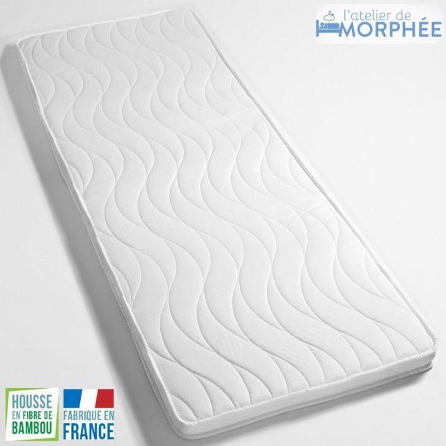 Atelier De Morphee Surmatelas à memoire de forme de qualité 114x180 5cm